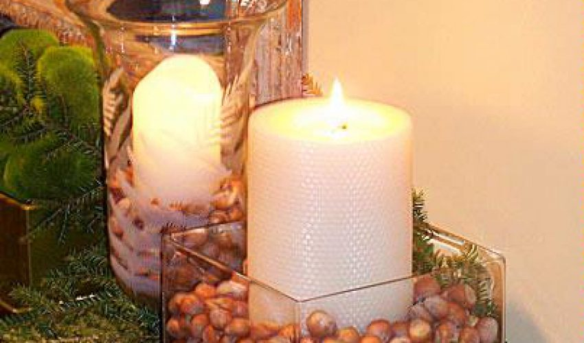 Making Honeycomb Beeswax Candles