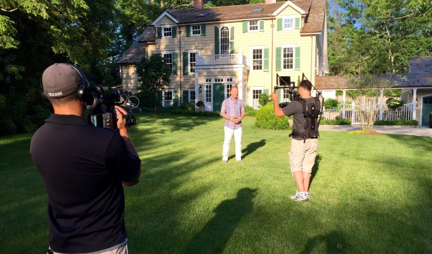 "emmy¨ - nominated new england home makeover show ""life on mar's"