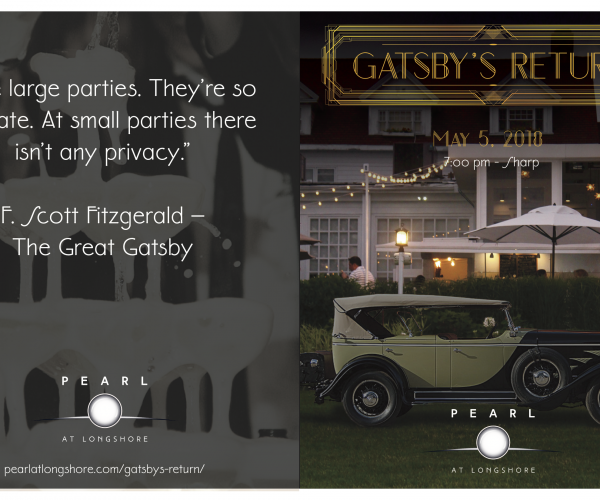 Champagne cocktail, anyone? Gatsby has returned!