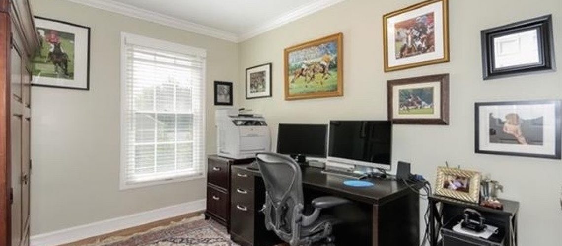 Home Office :  Before