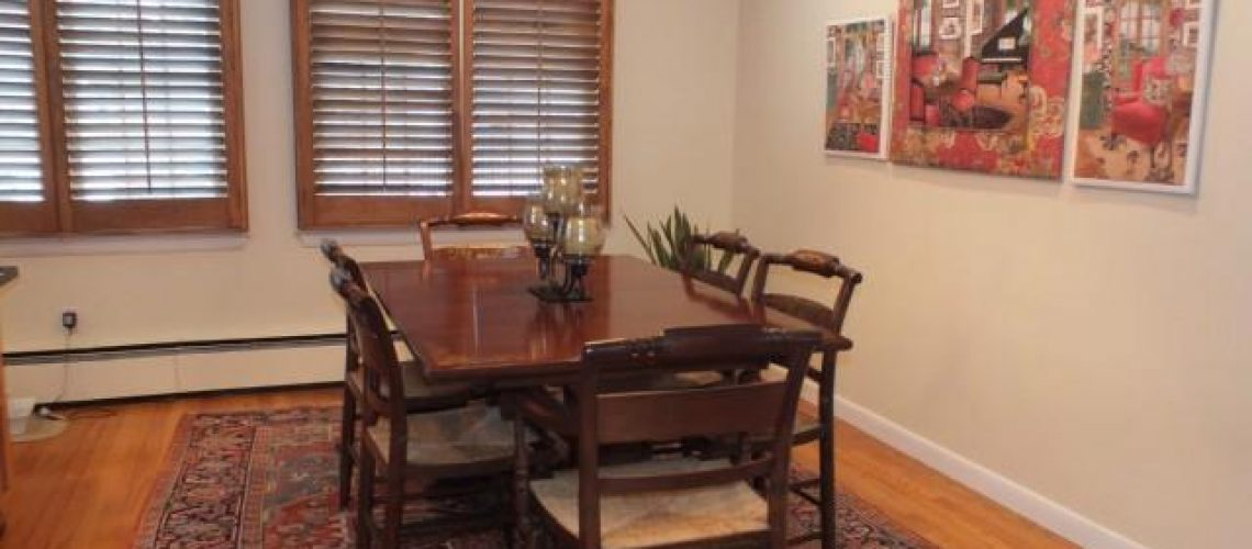 Dining Room  :  Before