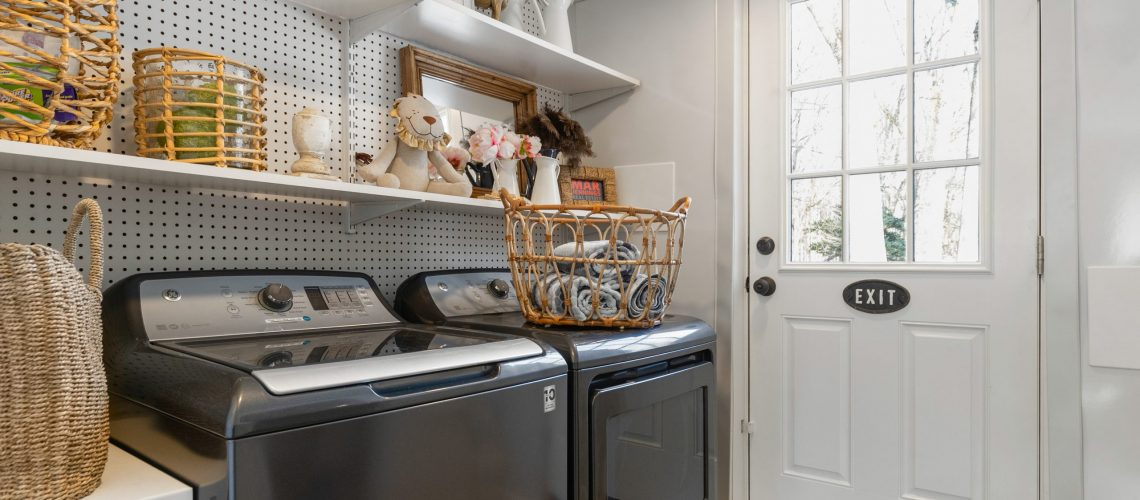 Laundry Room Transformation  :  After